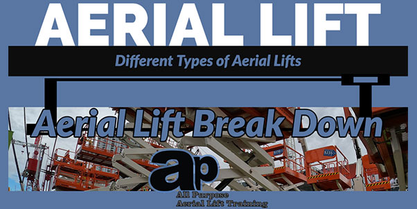 Different Types of Aerial Lifts and Boom Lifts